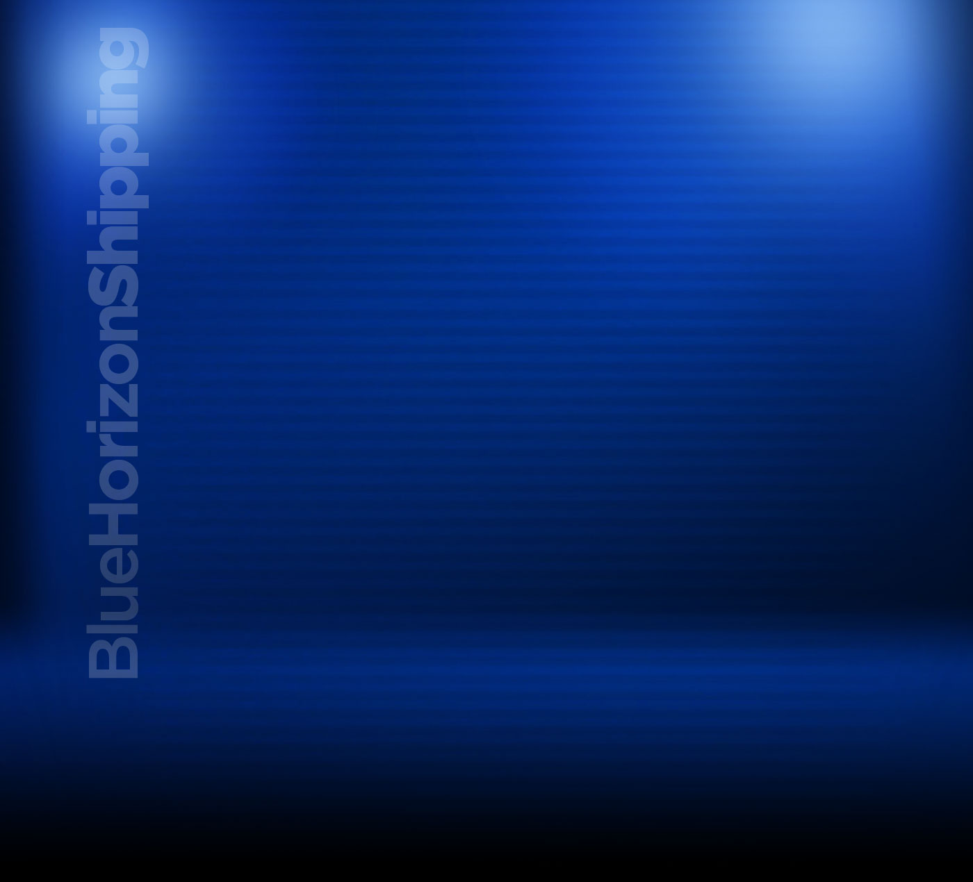Blue Horizon Shipping Background
