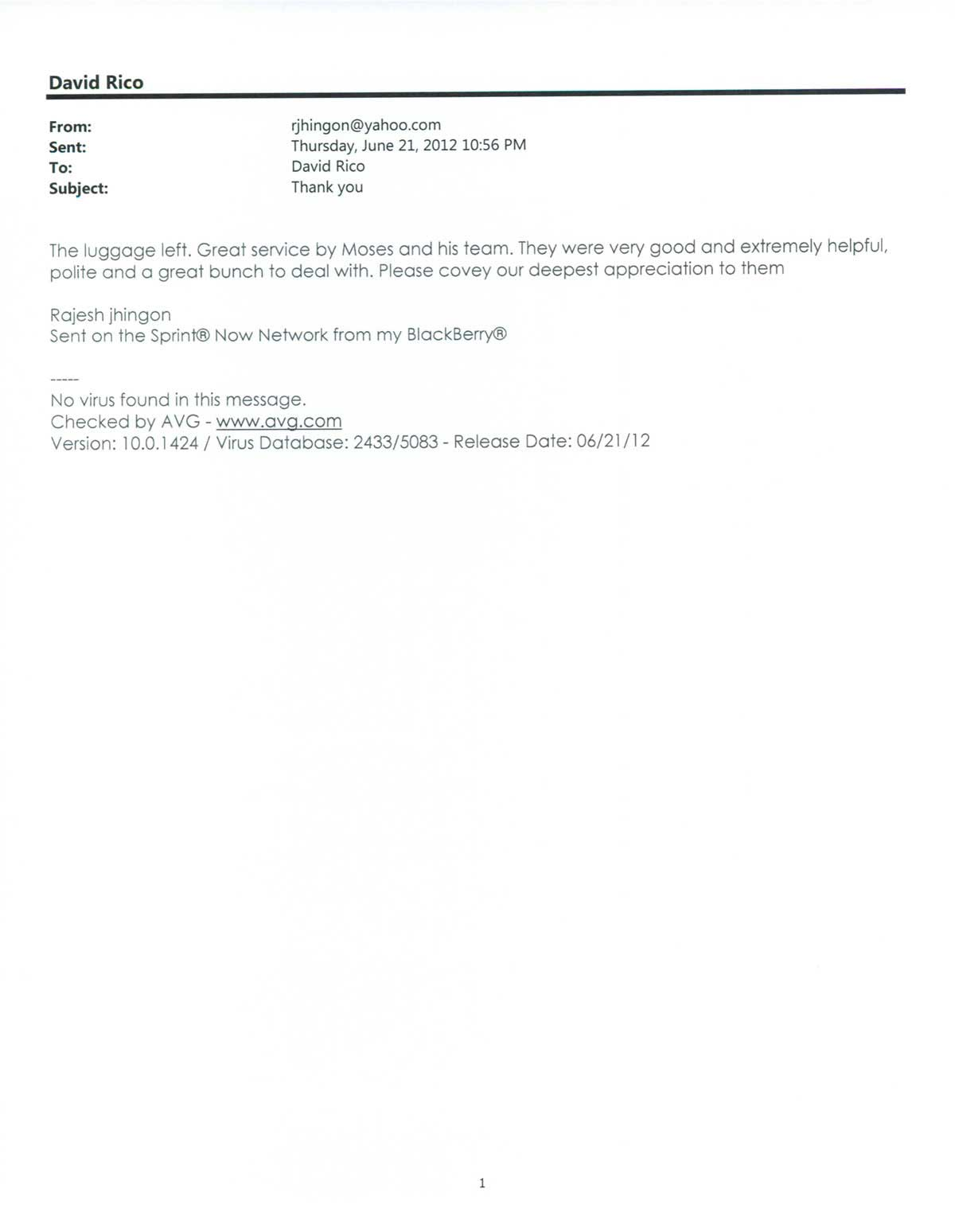 Testimonial #19- Rajesh Jhingon