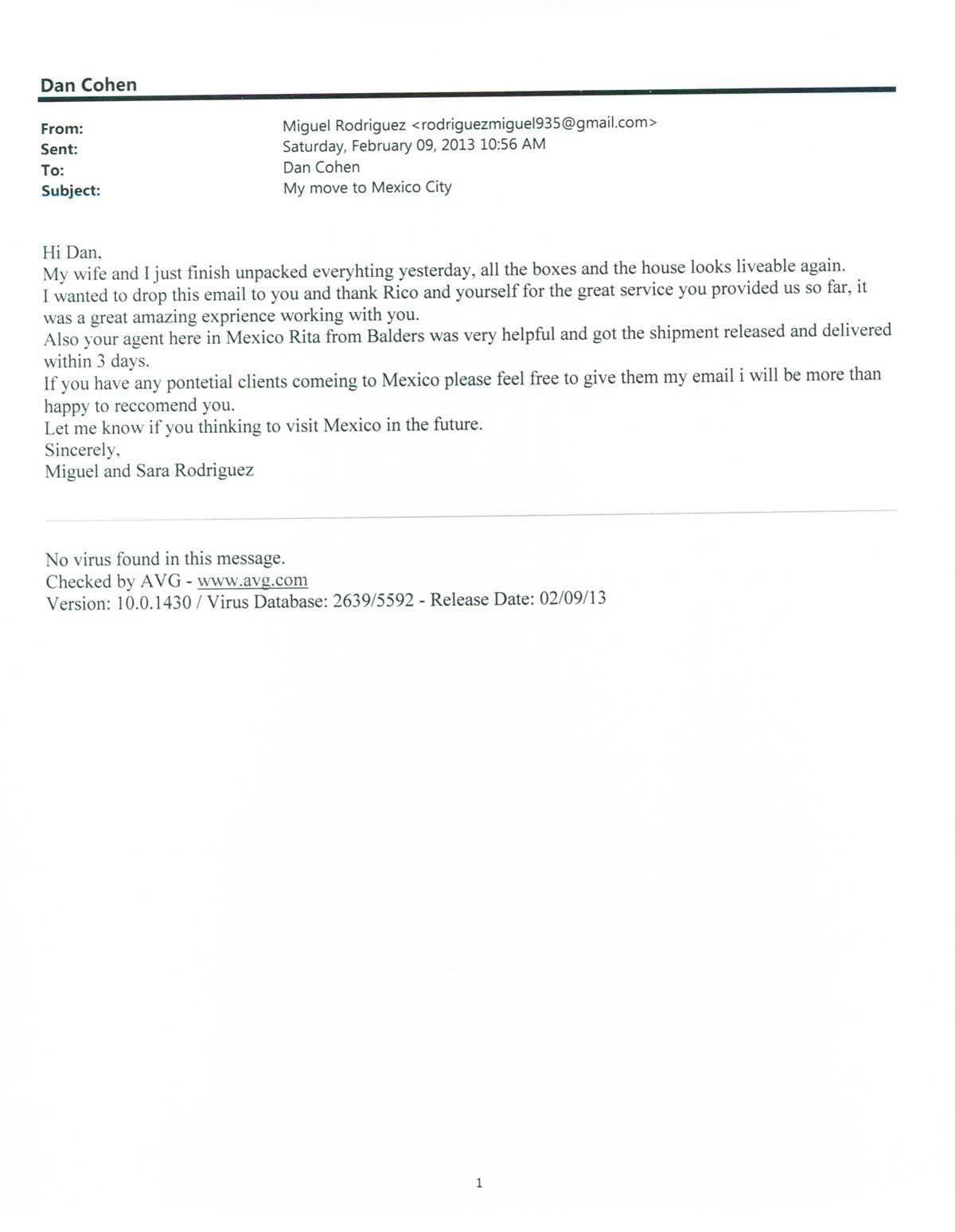 Testimonial #33- Miguel Rodriguez